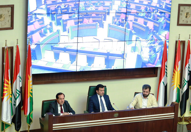 From the previous Kurdistan Parliament Presidency Board, just the deputy speaker belonged to the KDP