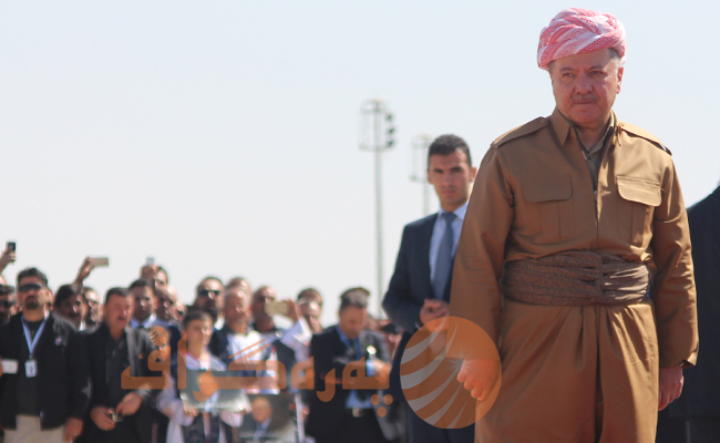 Barzani says election promises will be fulfilled. Photograph: Peregraf