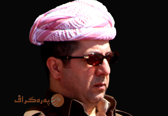 Masrour Barzani, from top intelligence to top executive