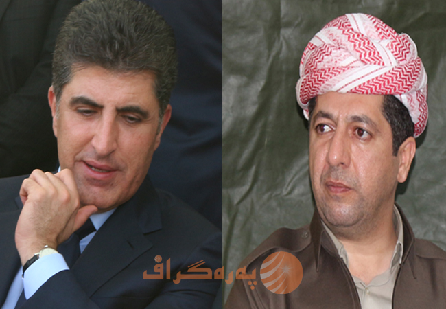 Power struggle within Barzani Tribe