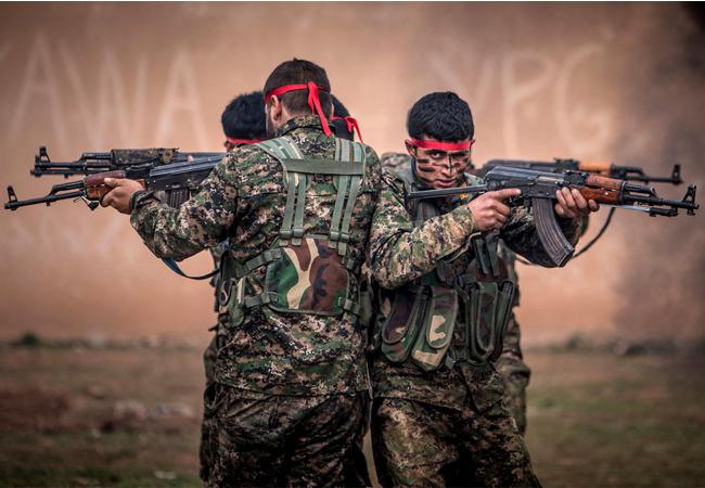 یەپەگە بەهێزترین هێزی شەڕكەر بووە دژی داعش لە خاكی سوریا.