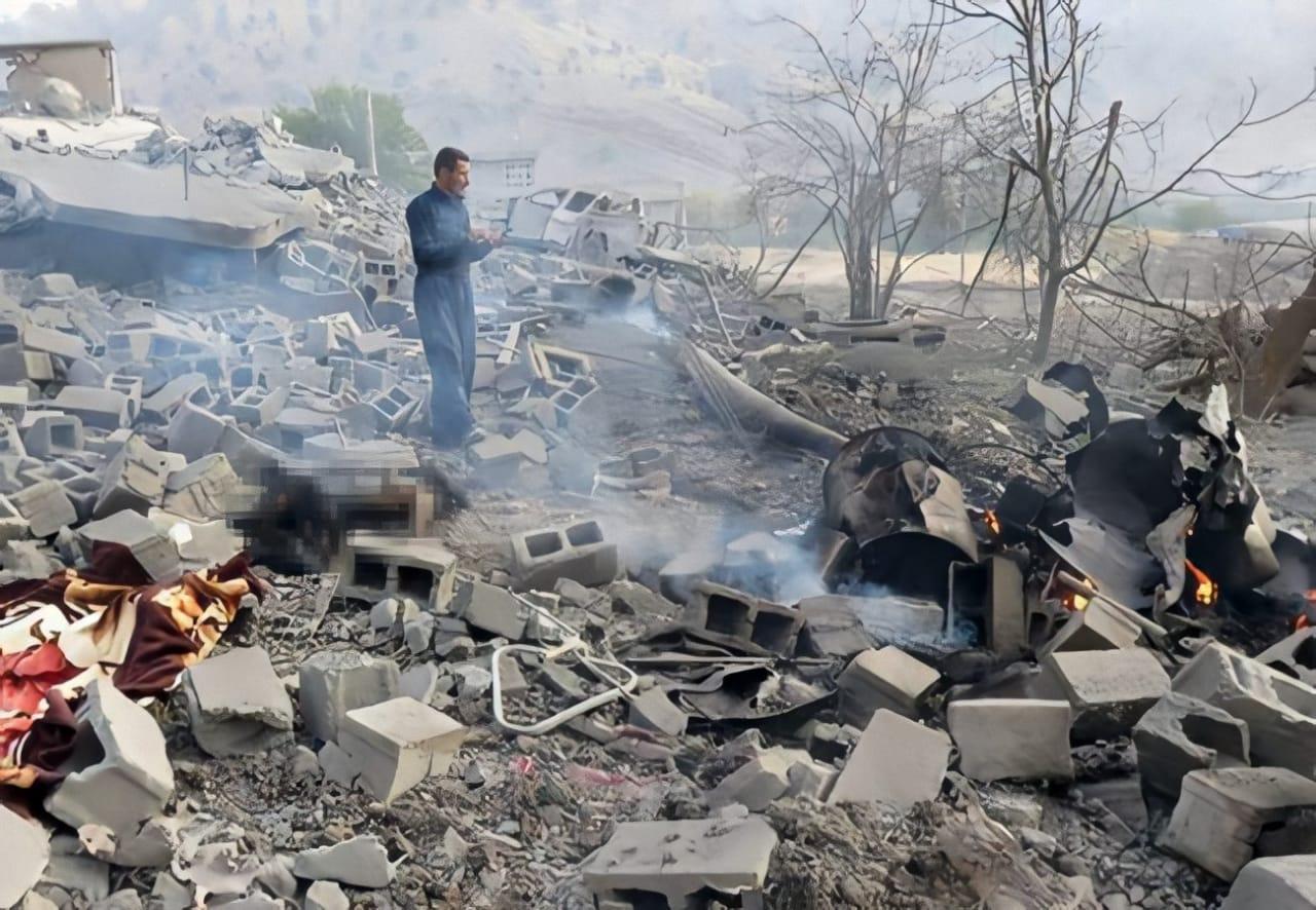 Turkish airstrikes displace hundreds of people in Iraqi Kurdistan