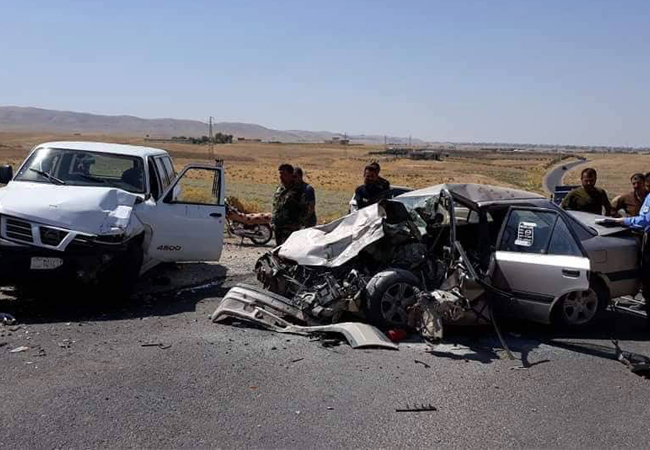 Traffic incidents cause carnage in the Kurdistan Region