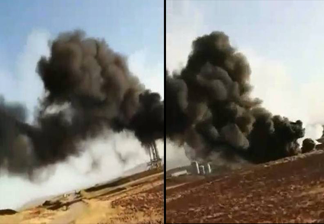 Black Smoke Threatens the People in Kurdish area