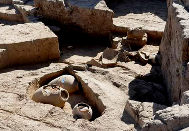 The construction of an archaeological site in the province of Duhok under the supervision of the KRG's Directorate of Antiquities and a German University